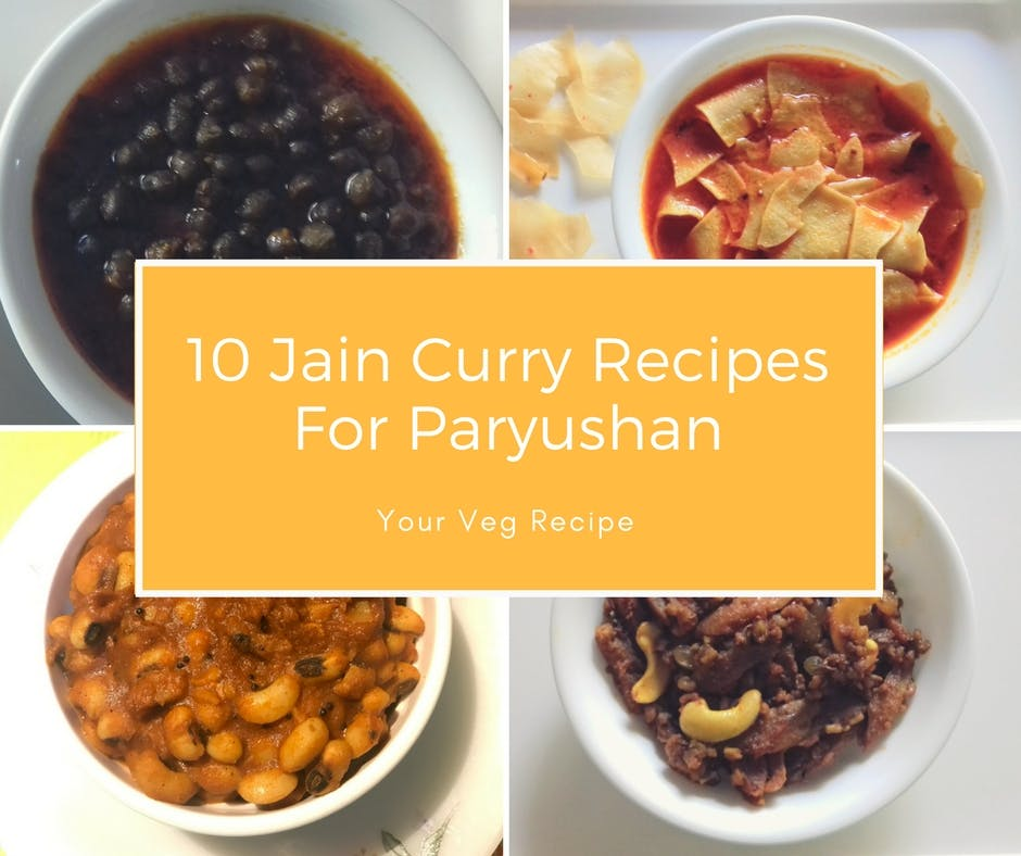 10 jain curry recipes for paryushan your veg recipe forumfinder Image collections