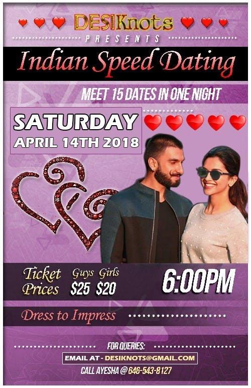 Desi speed dating new york