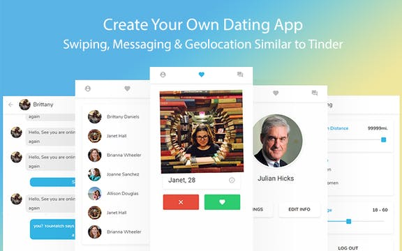 how to create your own dating app