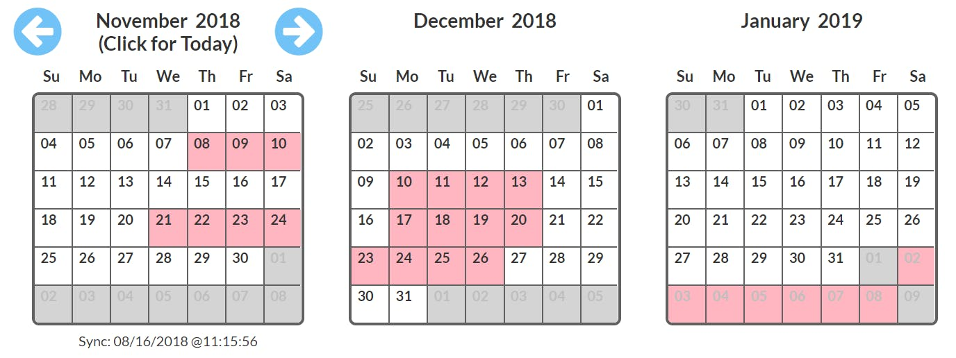 grupz vacation rental calendars for any website sync to any