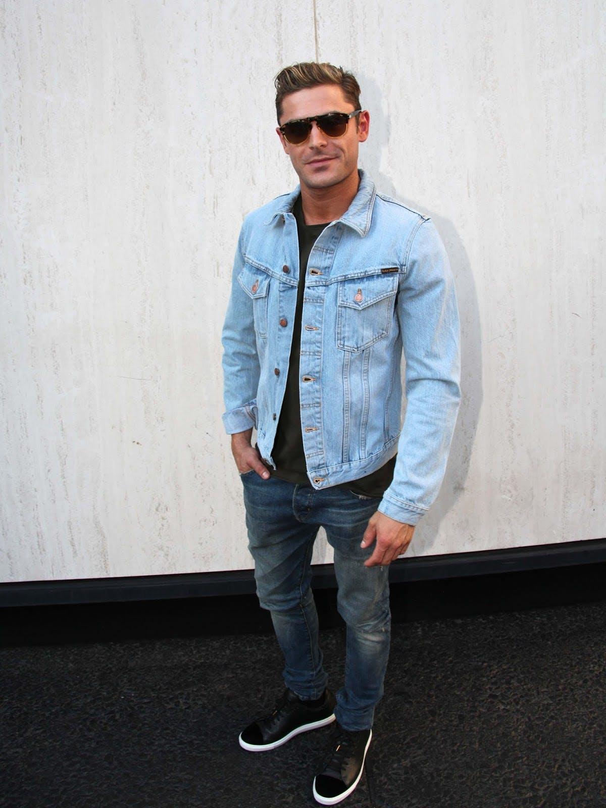 Zac Efron En Noir Jeans