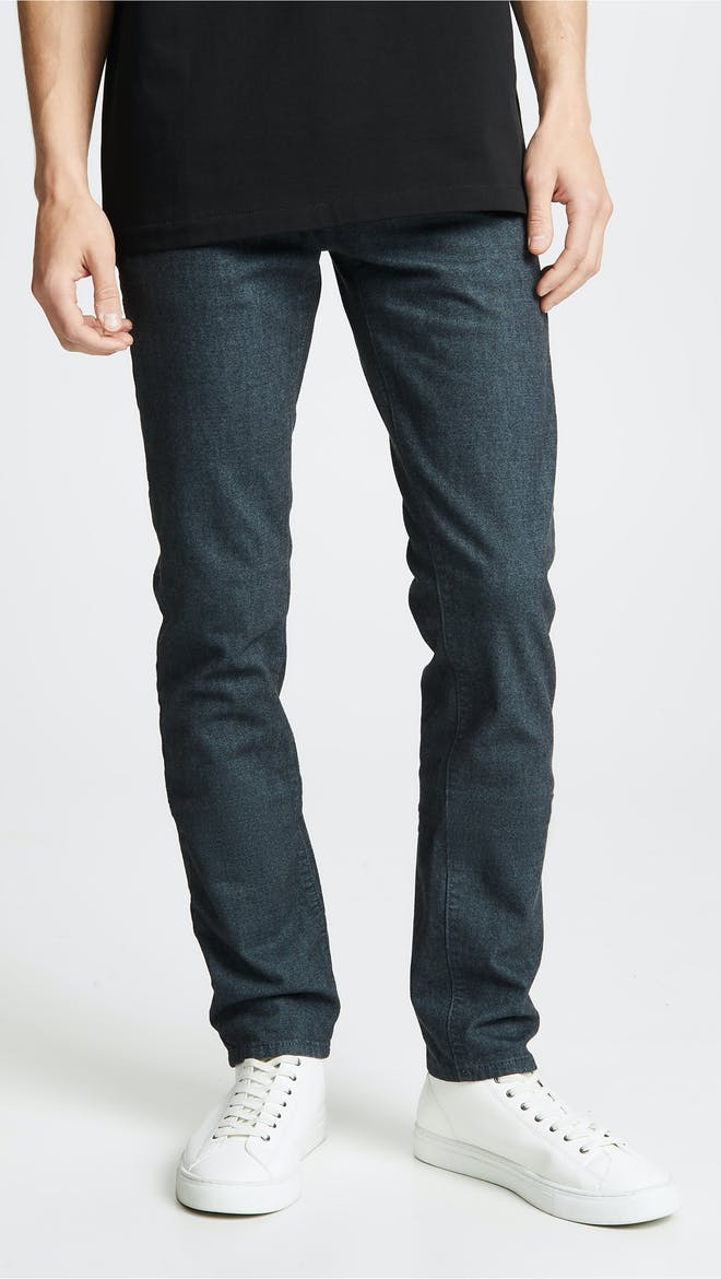 Mick Raw Denim Skinny Jeans