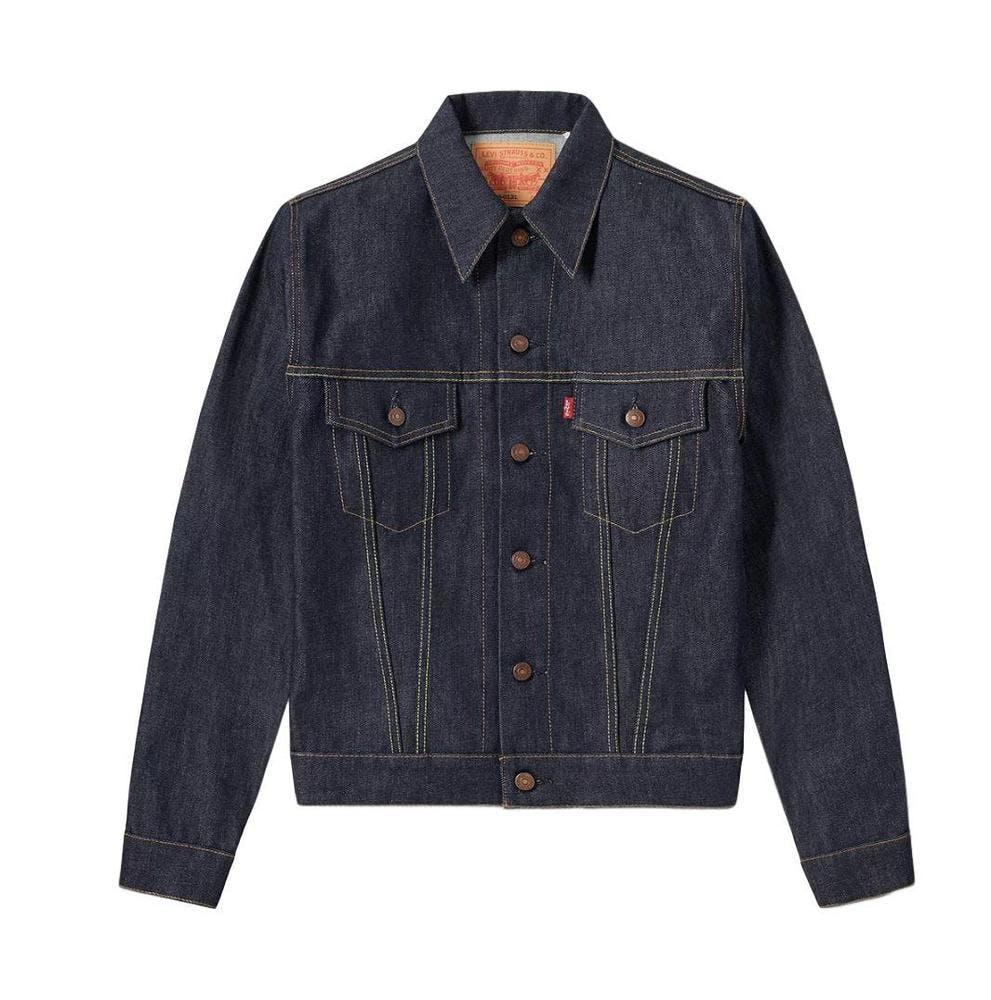 levi's, trucker jacket, denim jacket, jean jacket, rigid denim jacket
