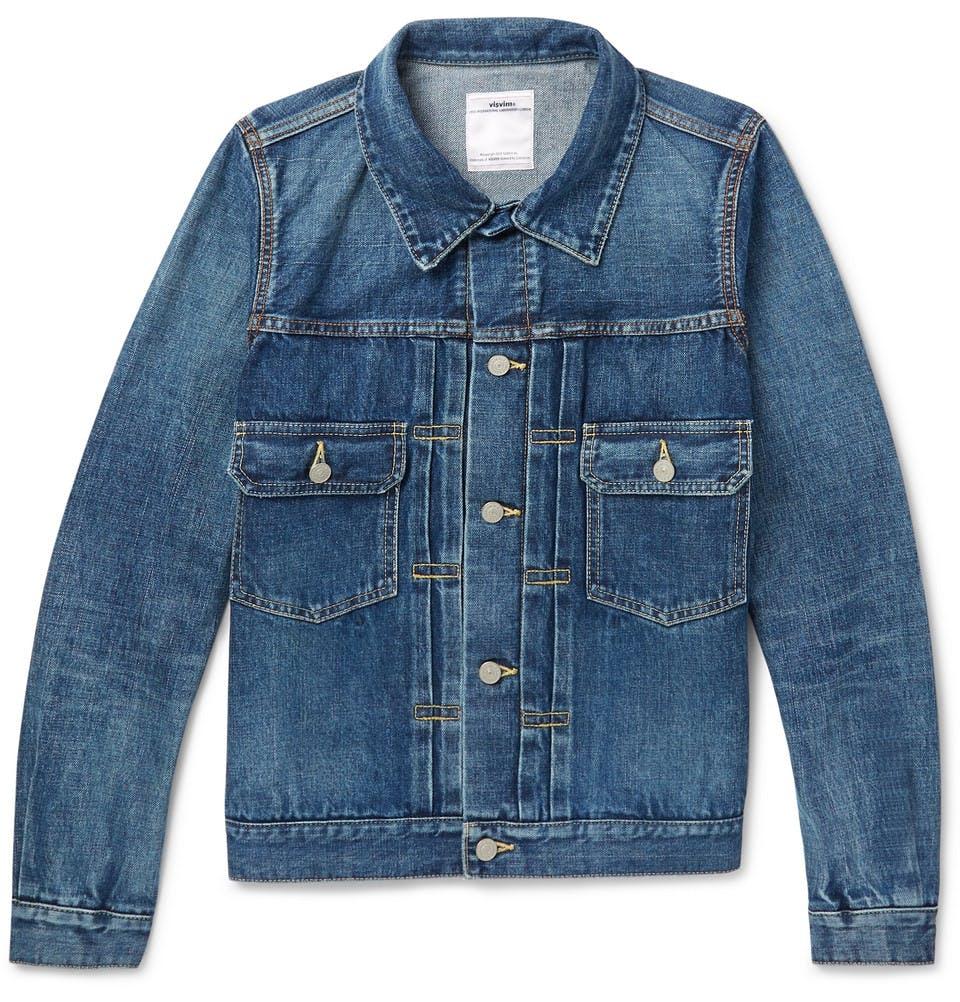 visvim, denim jacket, type II, jean jacket, trucker jacket