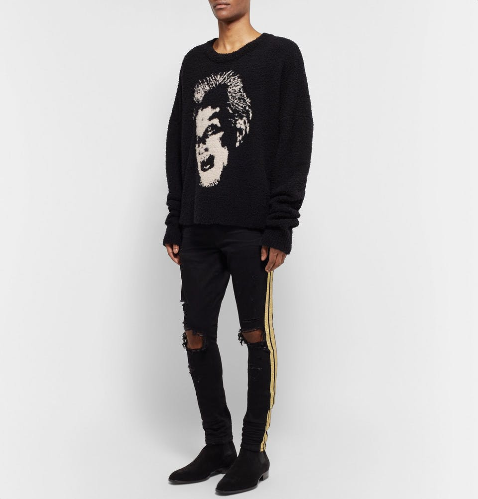 The Cast 2 Skinny-Fit Coated Denim Jeans