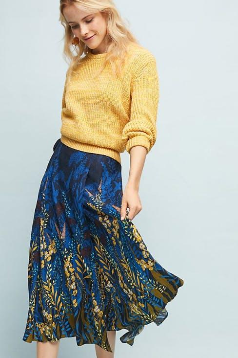 Midnight Garden Skirt
