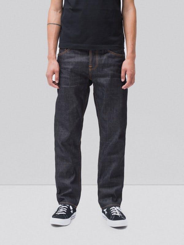 nudie jeans, dry denim, raw denim, selvedge denim