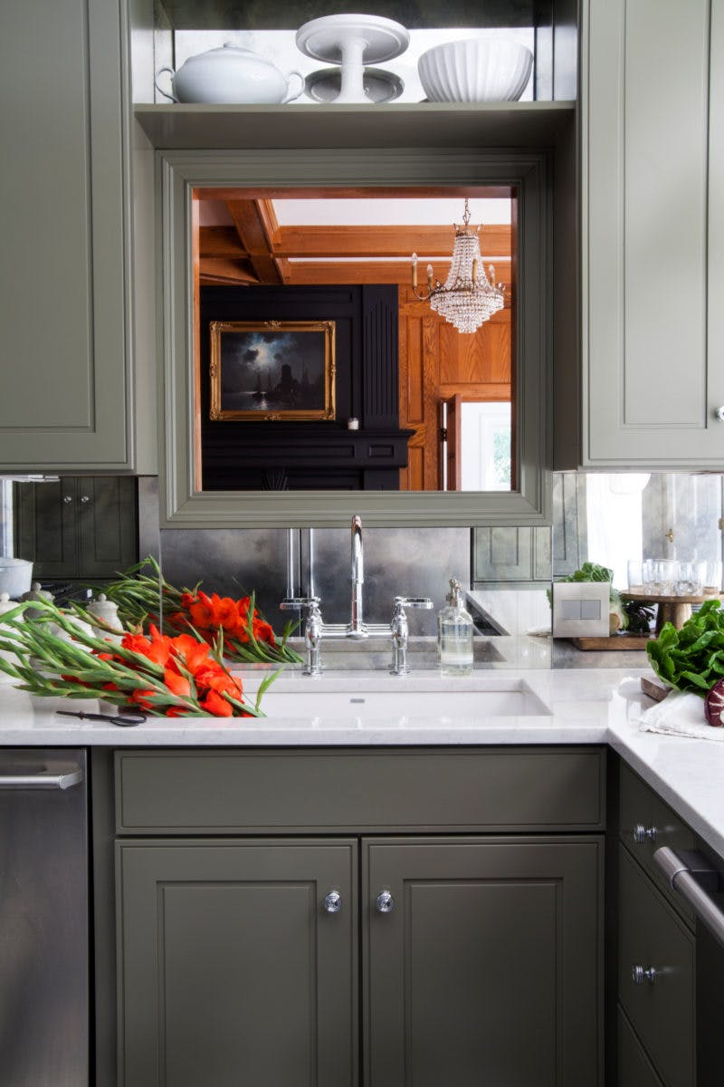 Mirrored Backsplash Inspiration November 2019 Our Guide