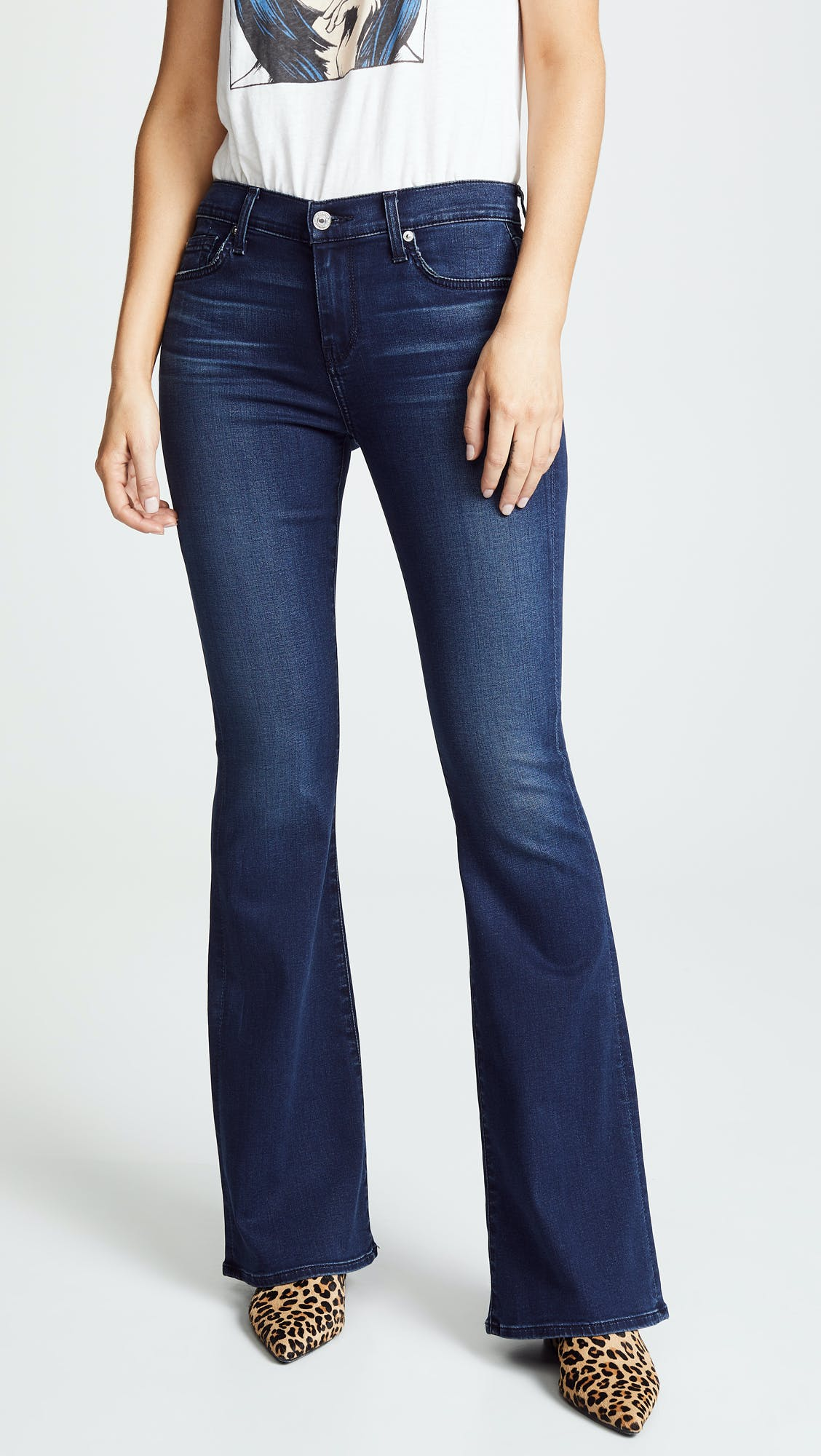 7 for all mankind jeans, 7fam, flares, high rise jeans, high waisted jeans, flared jeans