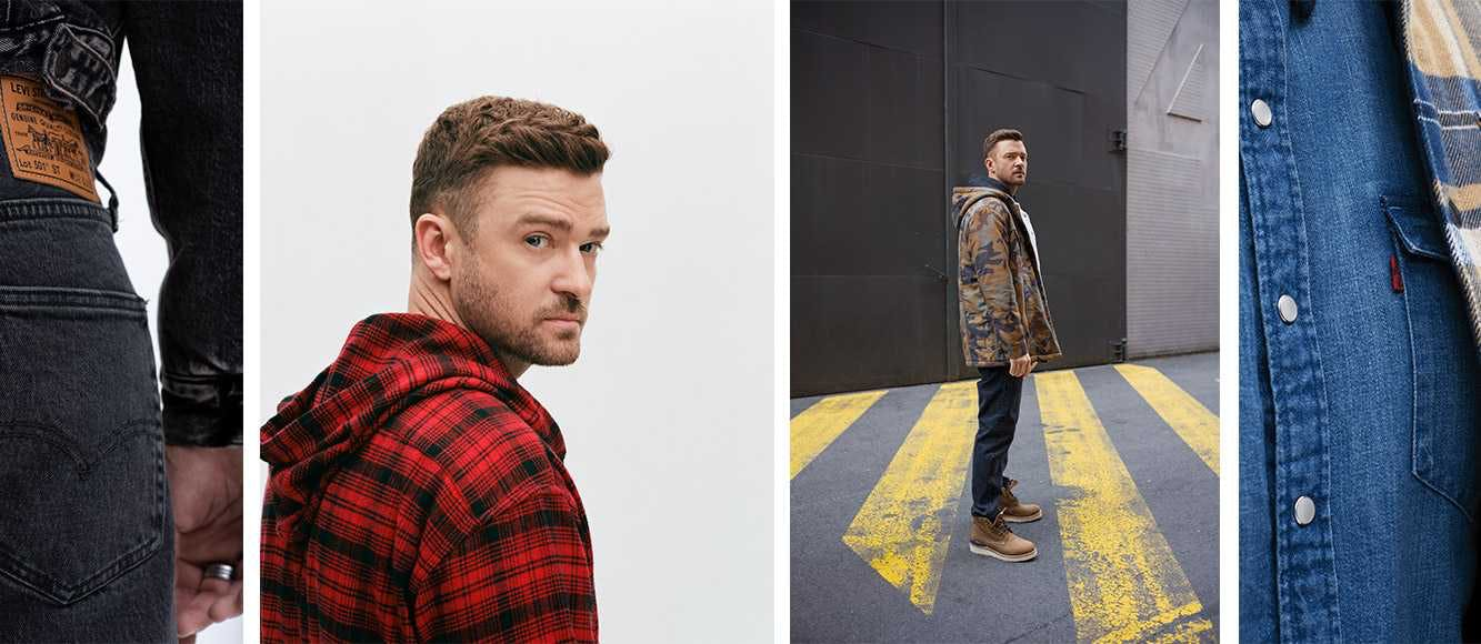 justin timberlake jeans, levi's, levi's x justin timberlake, fresh leaves collection