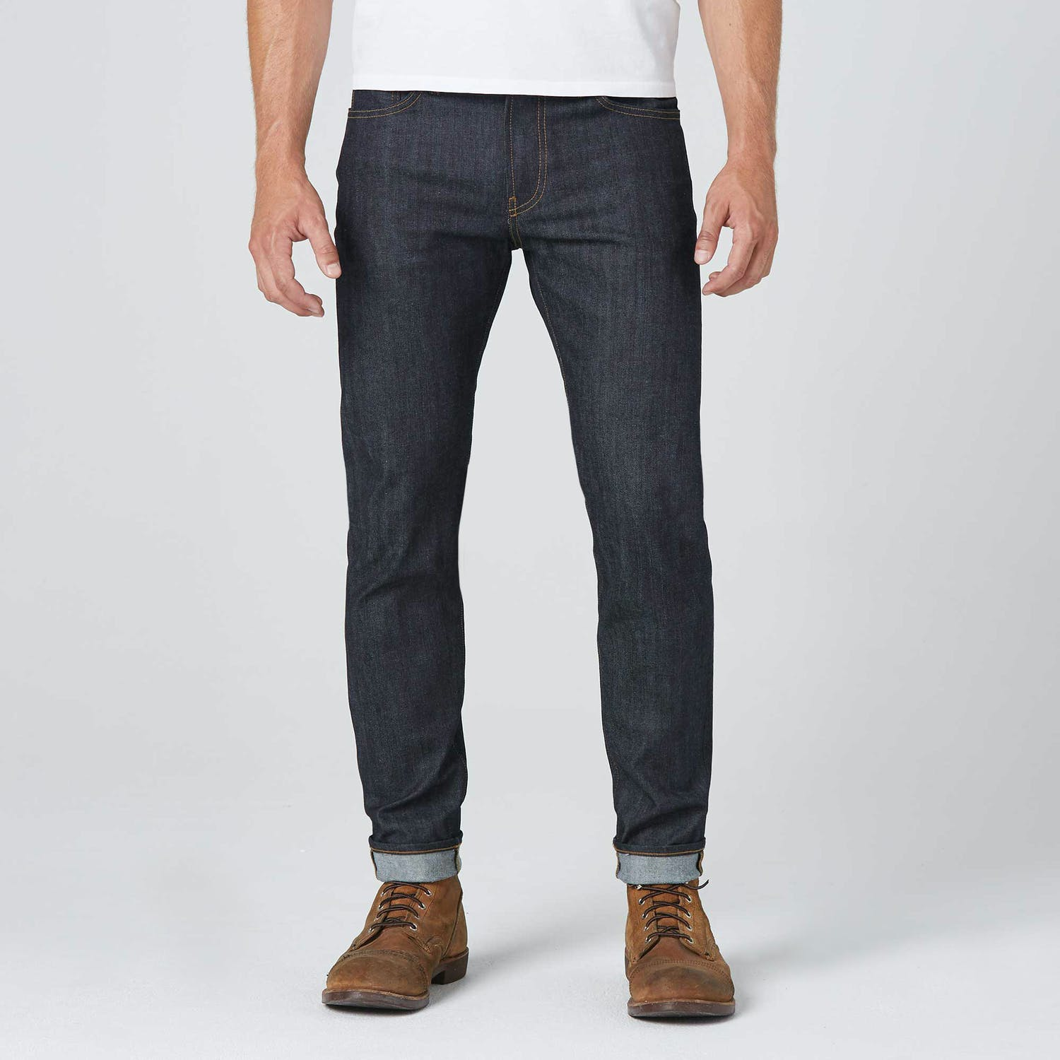 Skinny Slim in 11.75oz 24 Dip Indigo Timber