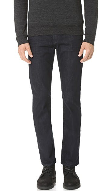 Straight Leg Luxe Performance Jeans