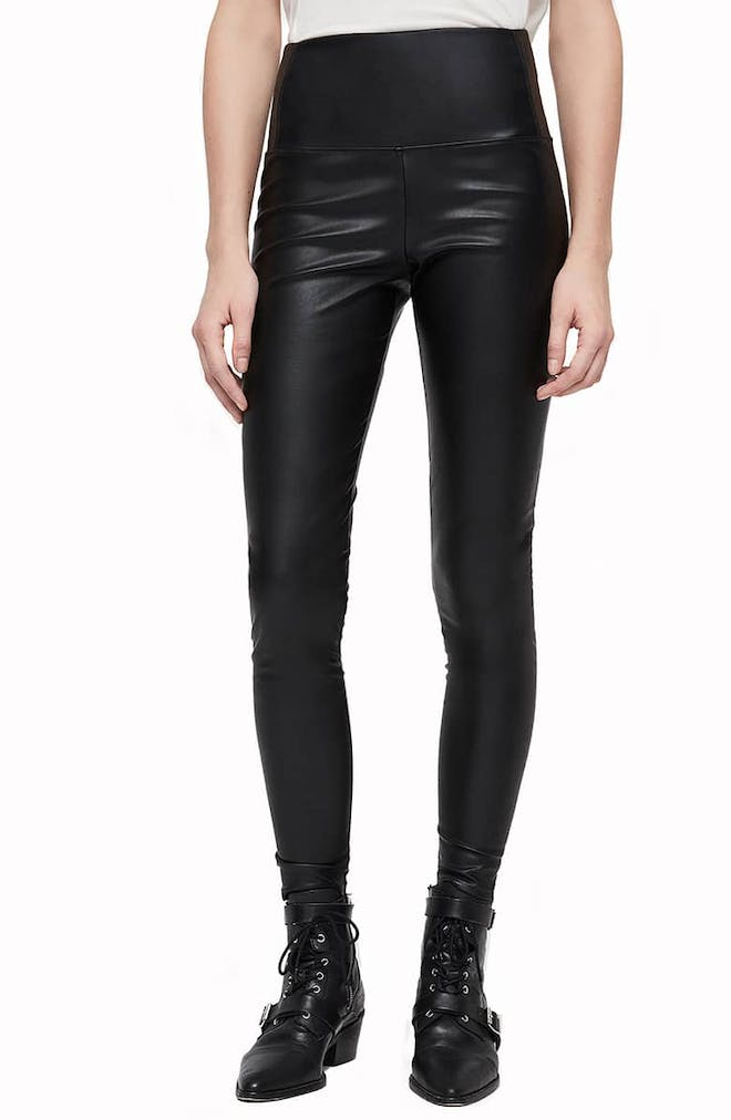Cora Faux Leather Leggings
