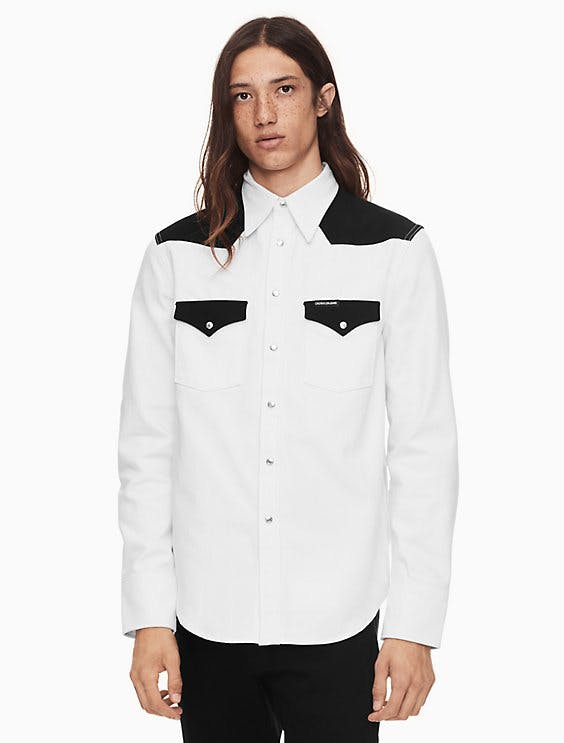 Foundation Western Blocked Shirt