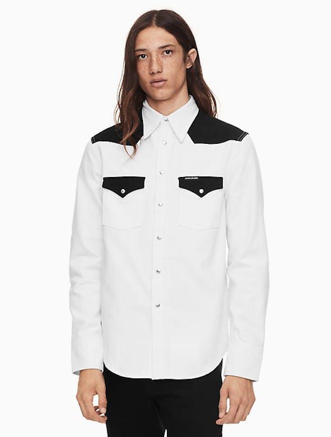 Foundation Western Blocked Shirt