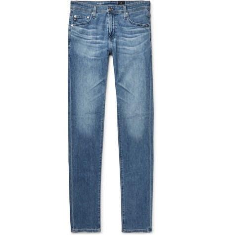 ag jeans, ag, stockton skinny, skinny jeans, blue jeans, faded jeans, denim blog