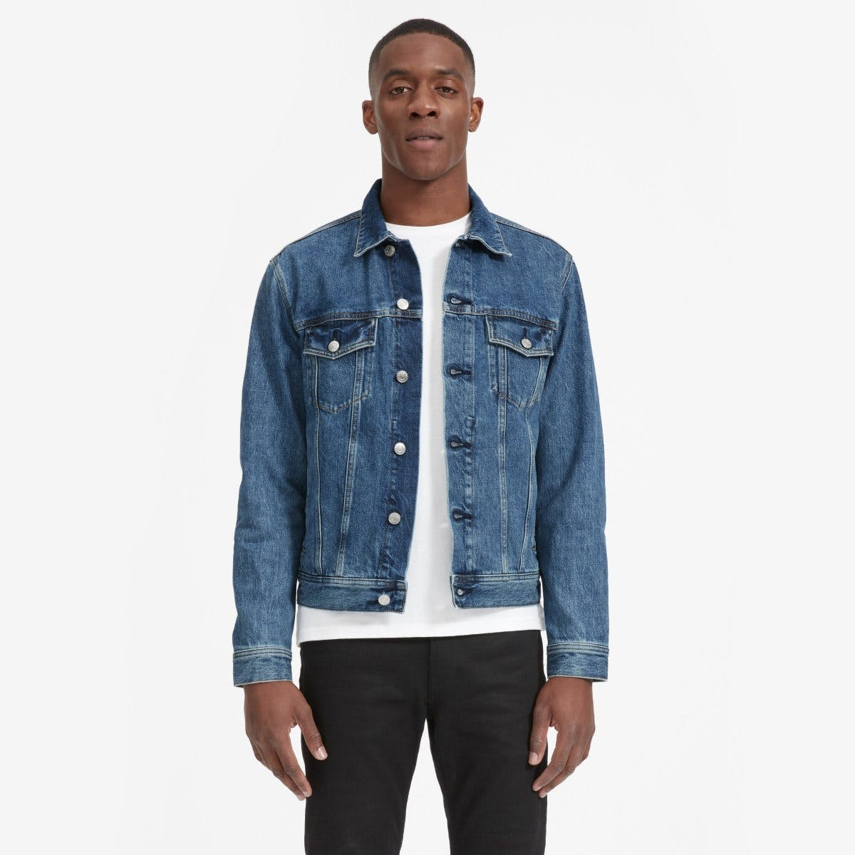 everlane, everlane jeans, everlane denim, japanese denim, denim jacket, jean jacket, trucker jacket, denimblog, denim blog