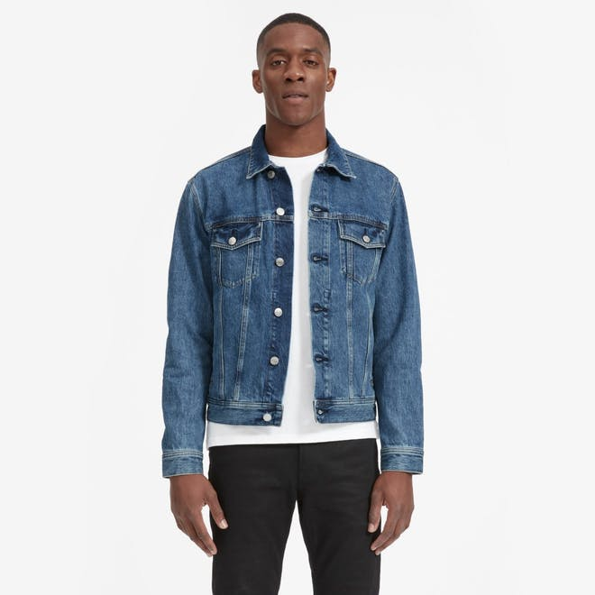 The Denim Jacket in Classic Blue Wash
