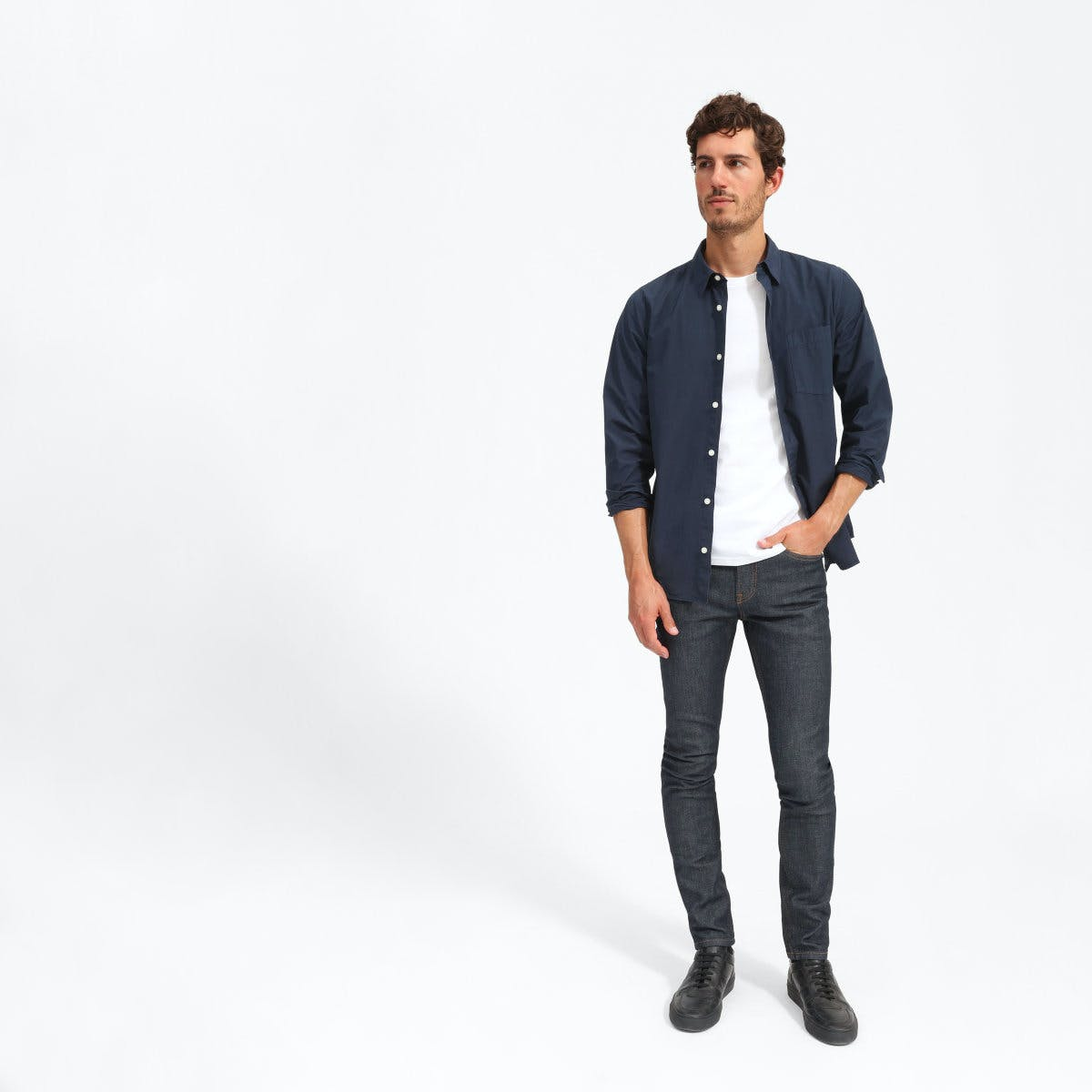 everlane, everlane jeans, everlane denim, japanese denim, skinny jeans, slim jeans, raw jeans, tapered jeans, denimblog, denim blog