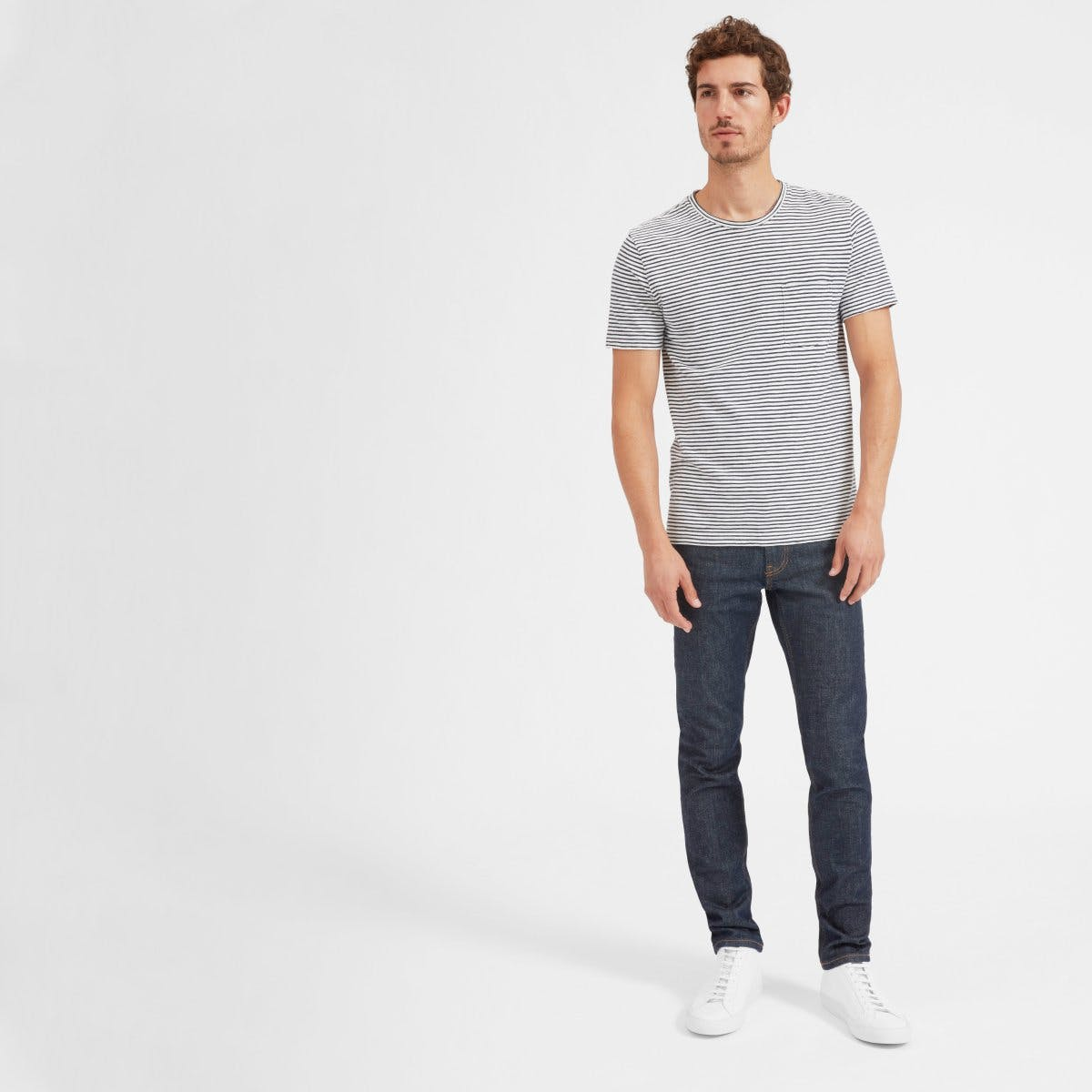 The Slim in Dark Indigo