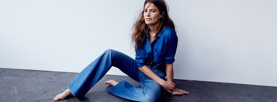madewell, madwell jeans, madwell denim, denim blog, denimblog, jeans, denim, blue, cameron russell