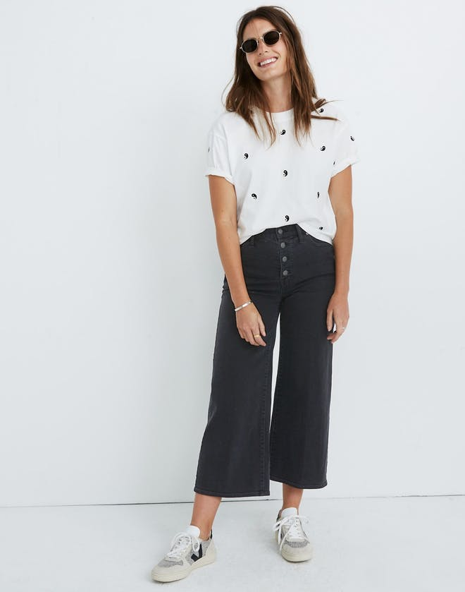 The Wide Leg Crop Jeans