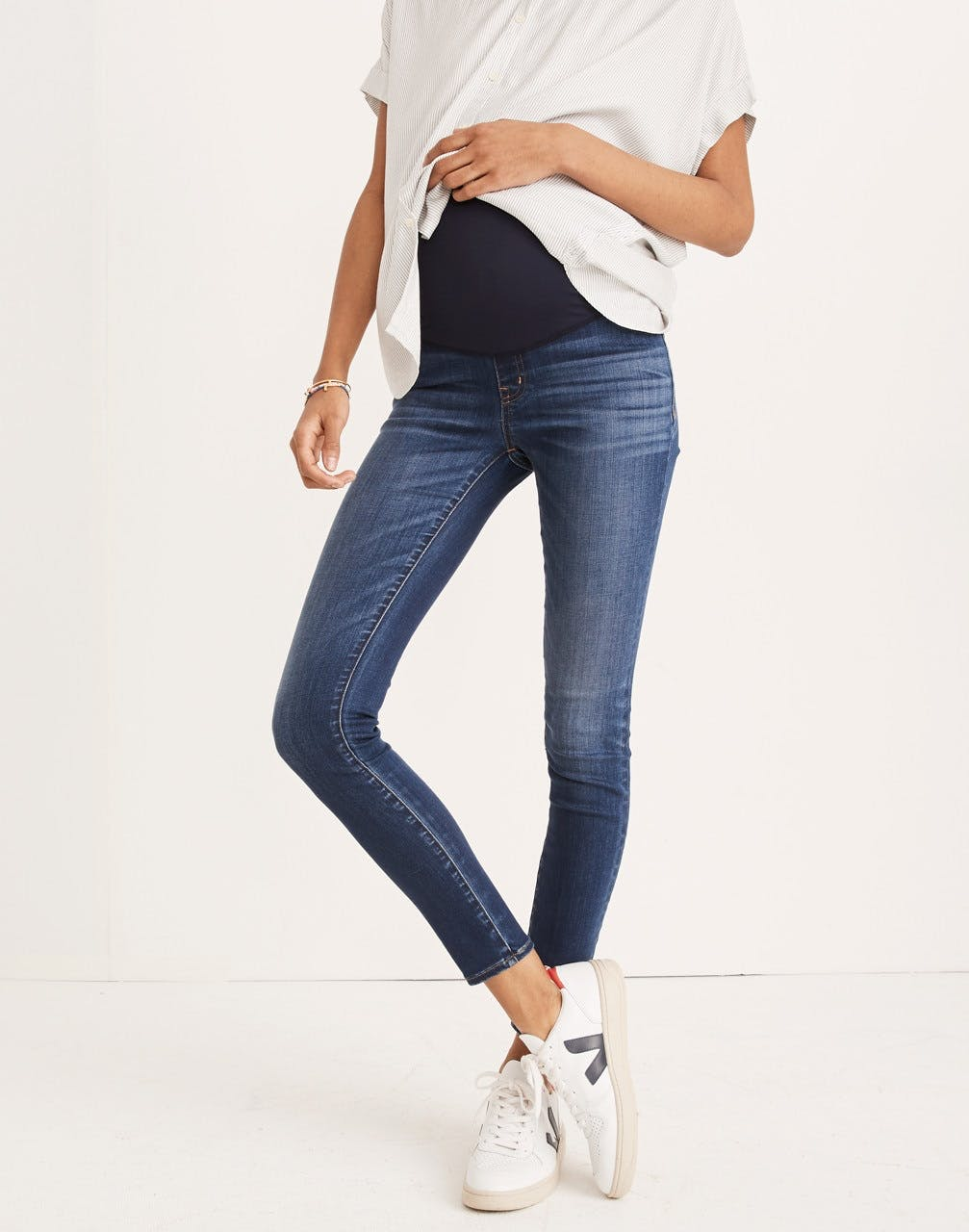 The Maternity Over-the-Belly Skinny Jeans