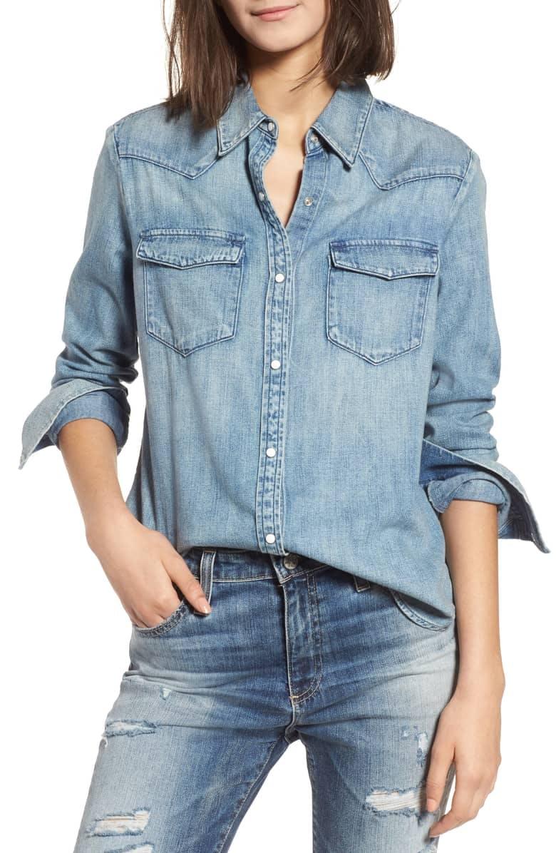 Deanna Denim Shirt