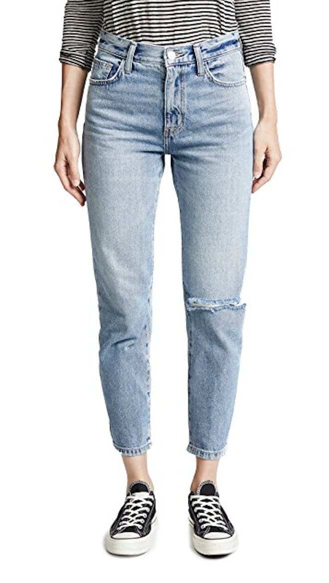 The Vintage Cropped Slim Jeans