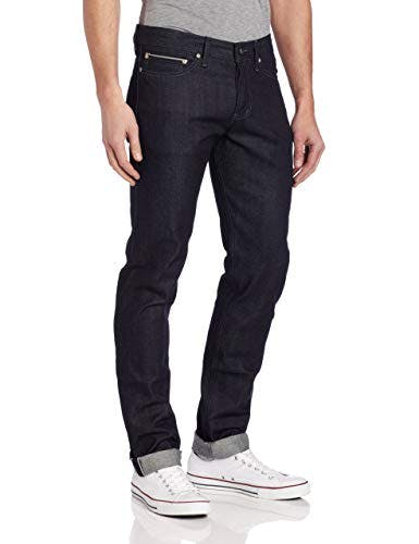Weird Guy Midrise Tapered-Leg Jean In Indigo Selvedge