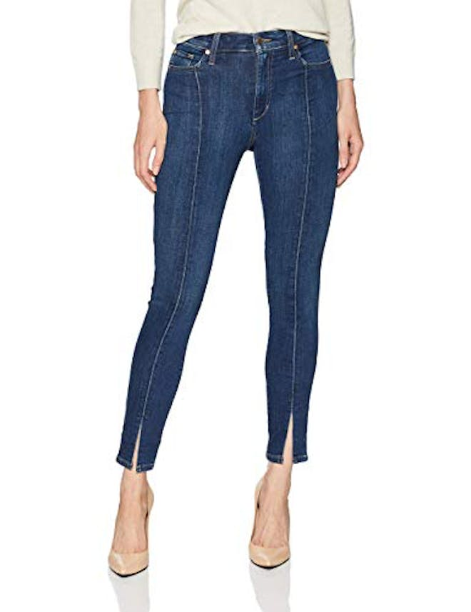 Women's Charlie High Rise Skinny Ankle Seam Detail