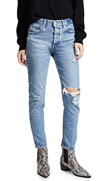 The Isabel High Rise Tapered Jeans