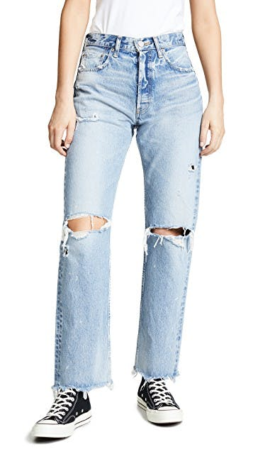 The Odessa Wide Straight Jeans