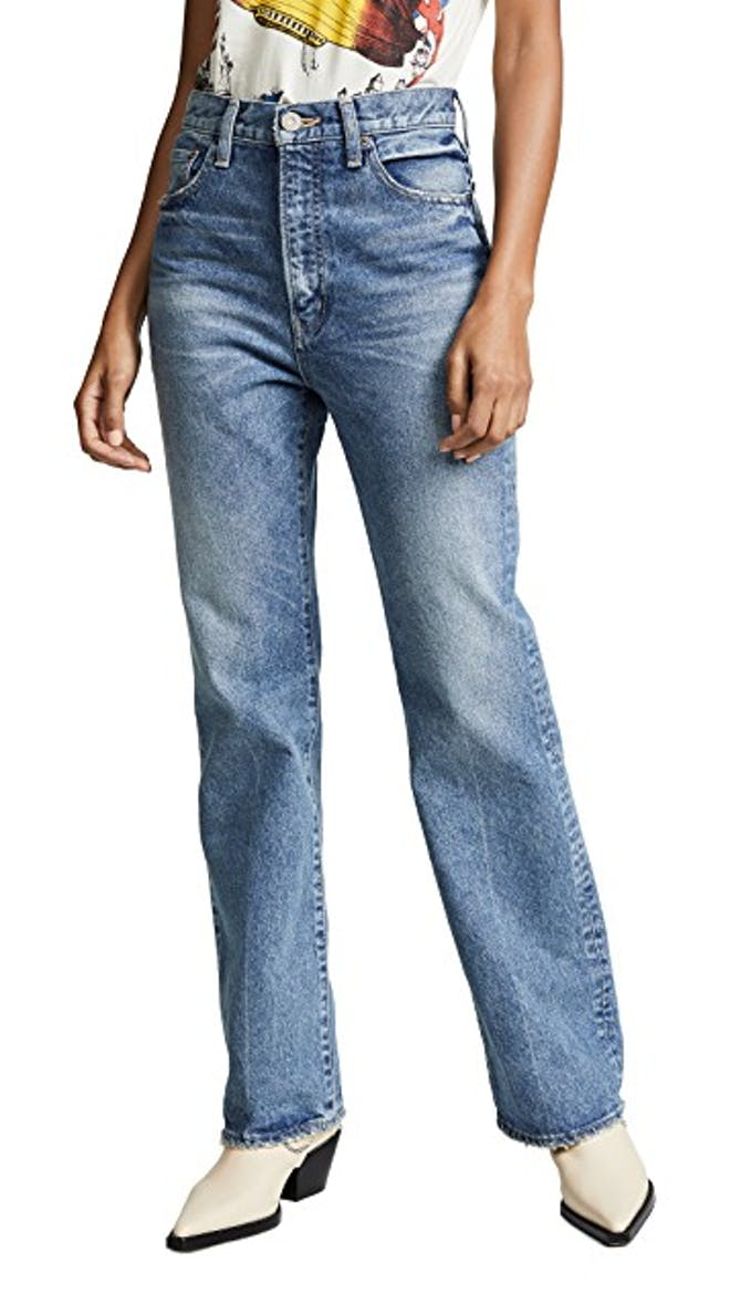 The Luna Straight Flare Jeans