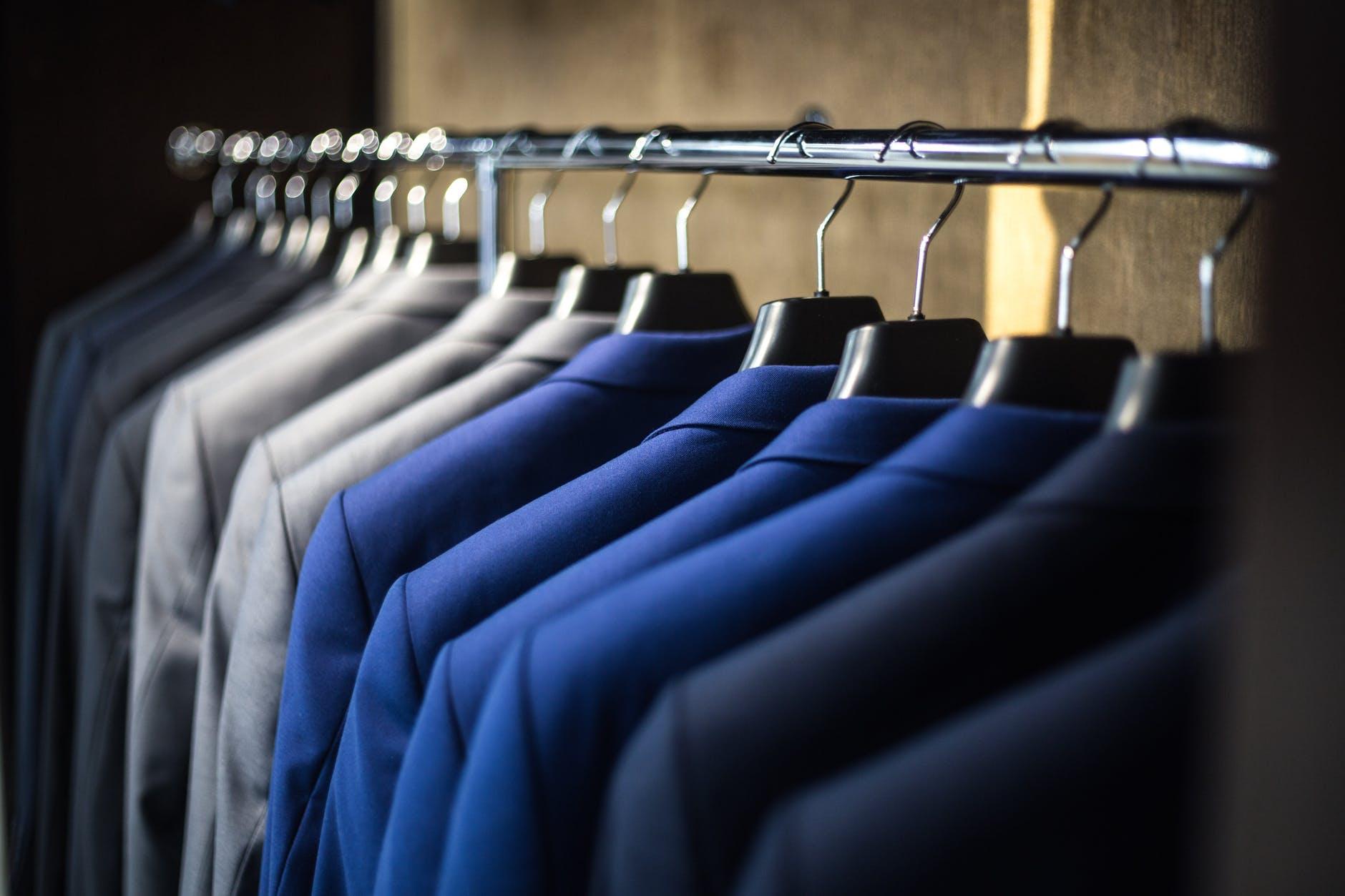 Color coordinate suits