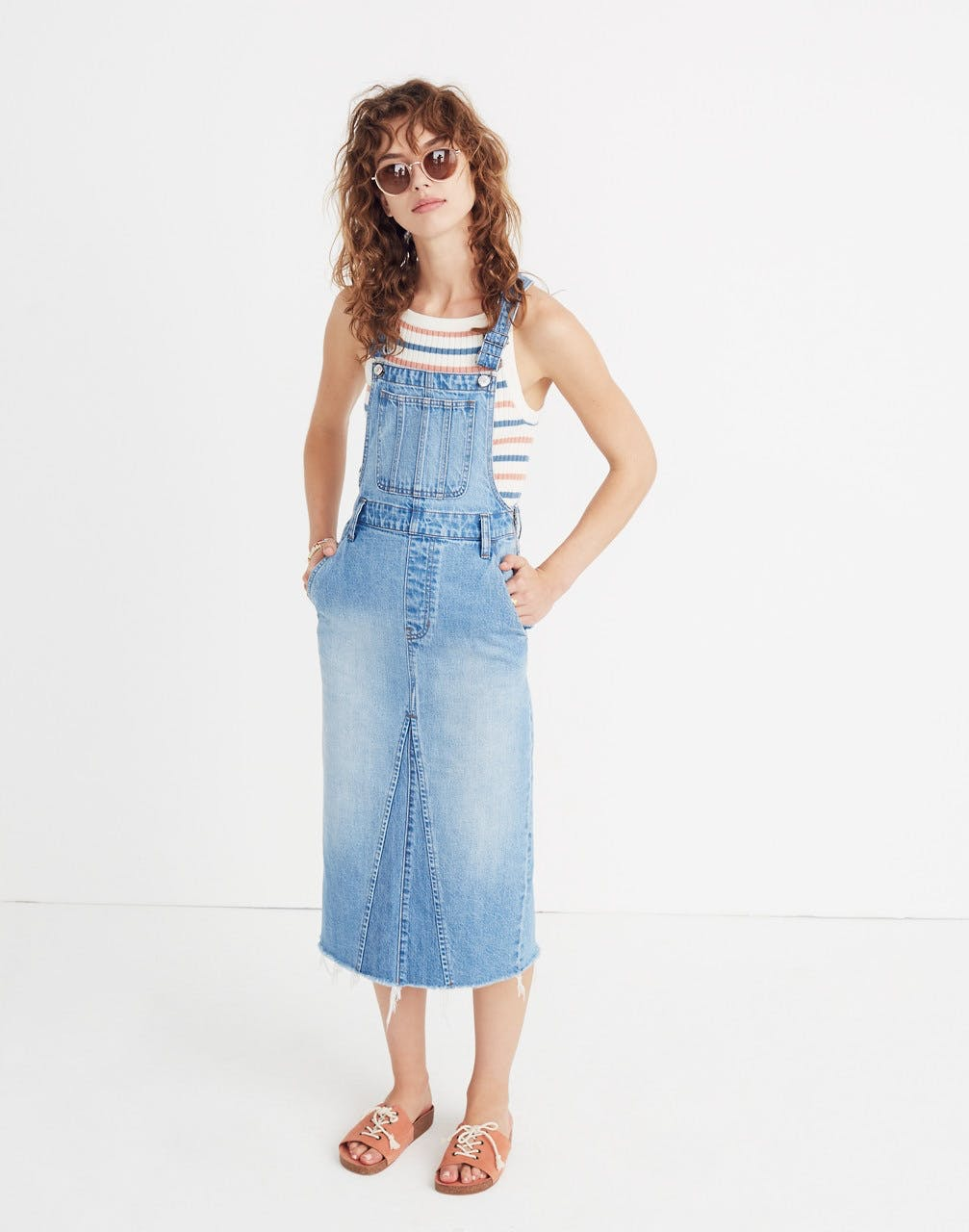 The Reconstructed Skirt Overalls