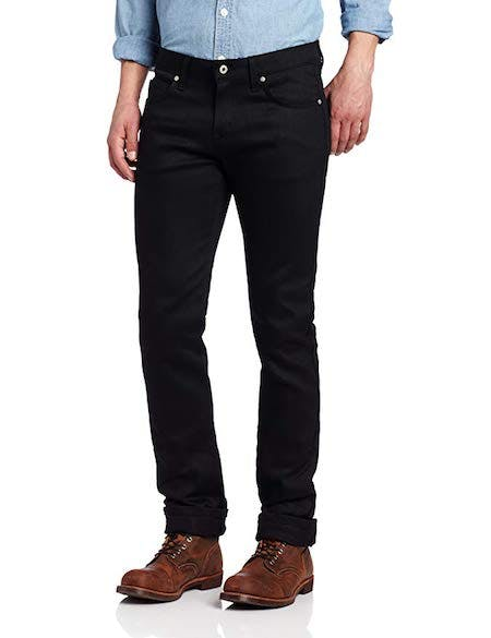 Men's SkinnyGuy Jean In Black Power-Stretch