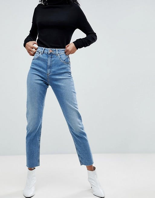 best mom jeans, high waisted mom jeans