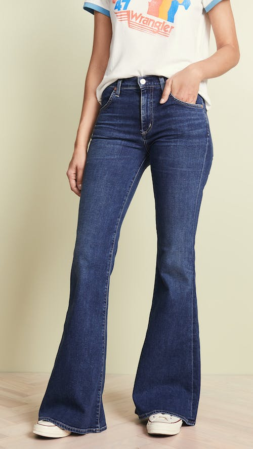 Holly High Rise Flare Jeans