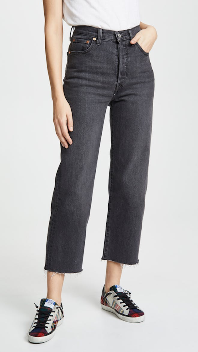 The Rib Cage Super High Rise Jeans