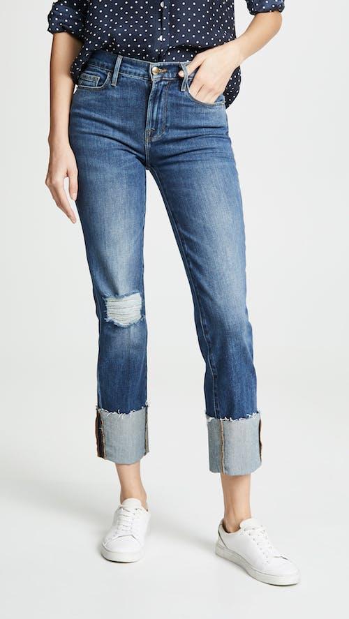 Le Nouveau Big Cuff Jeans