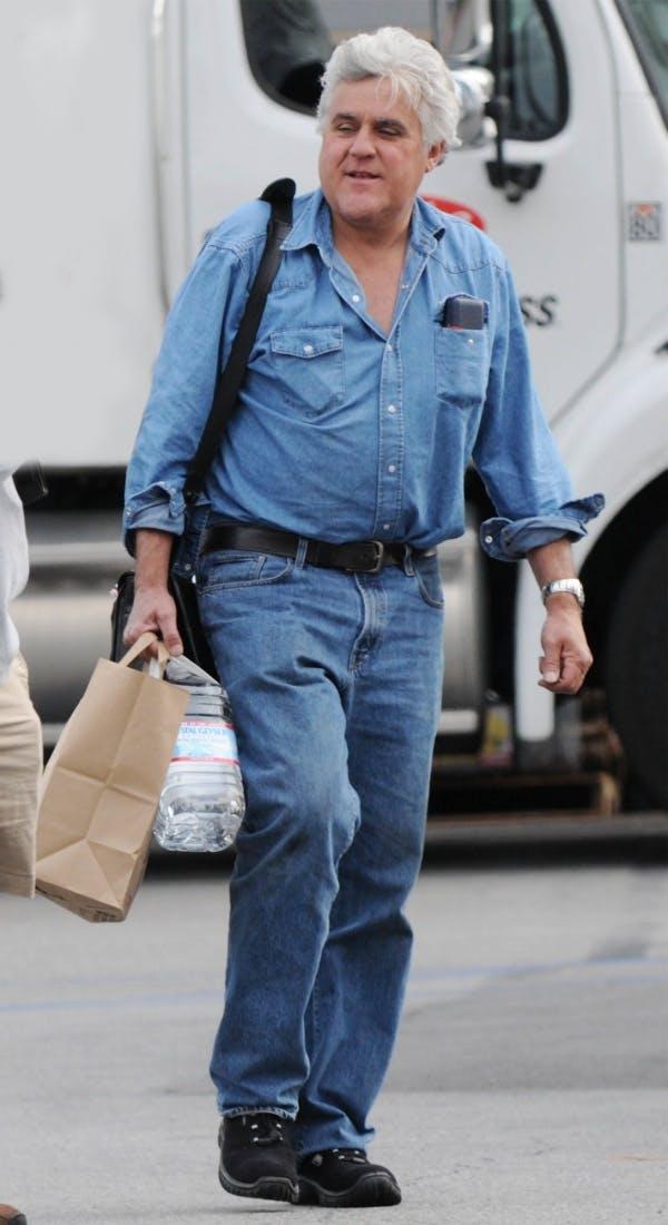 Jay Leno in Double Denim