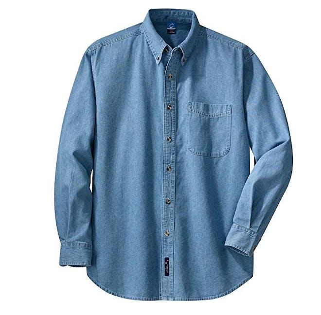 Men's Long Sleeve Value Denim Shirt