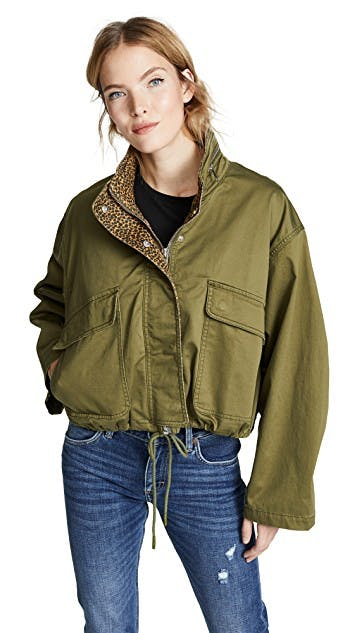 The Cropped Infantry Jacket