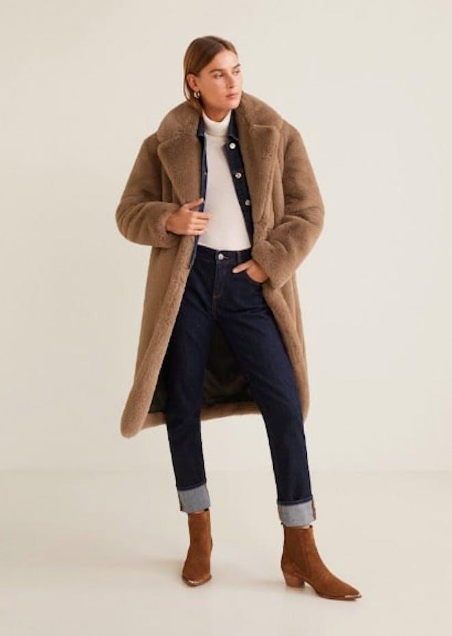 Oversize Fur Coat