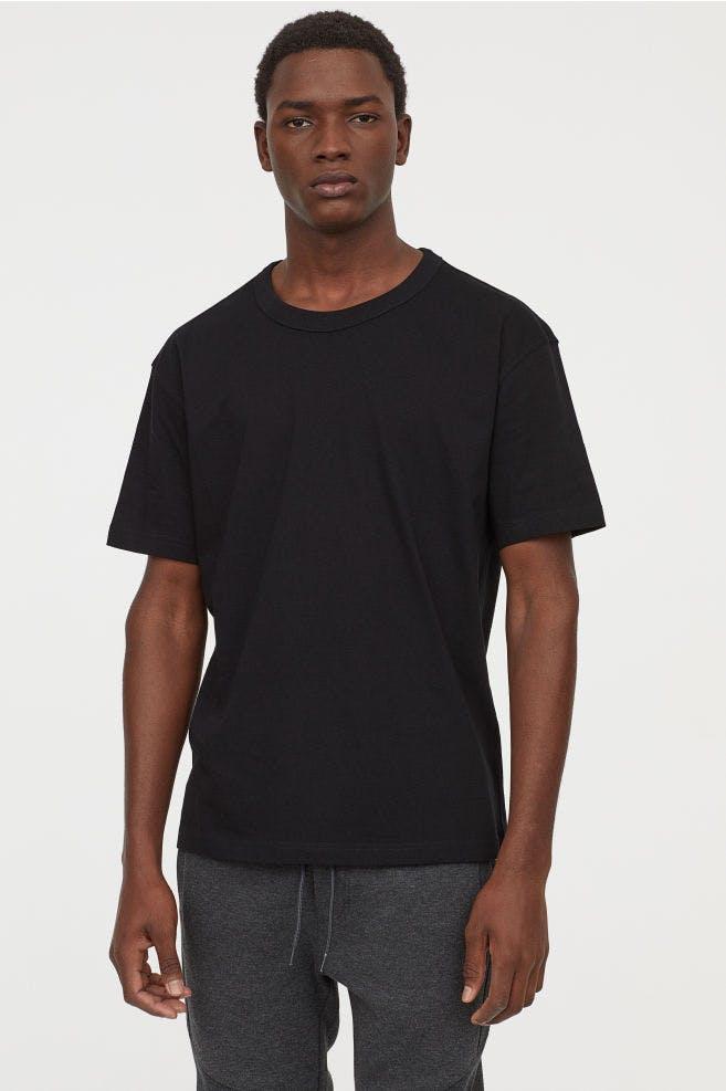 Slim fit Black T shirt
