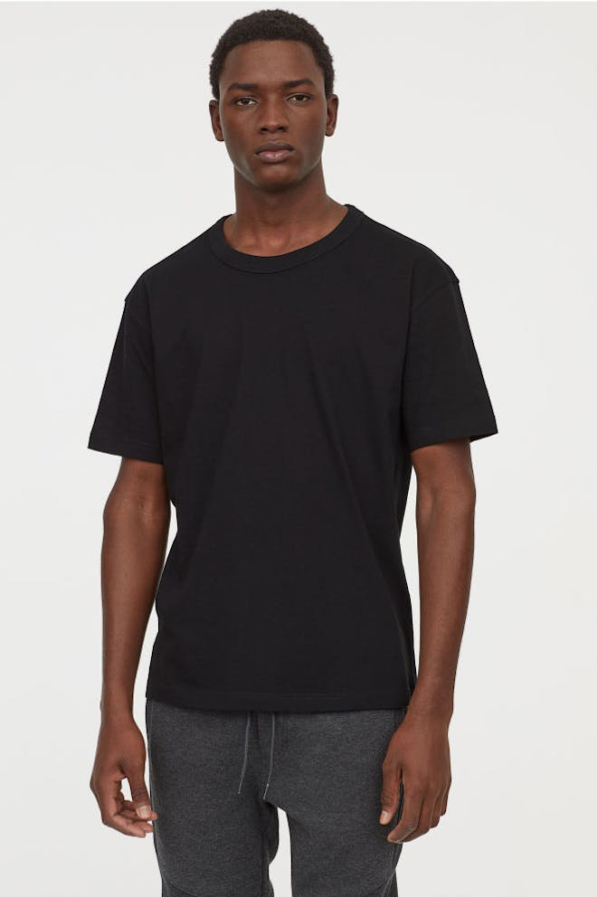 Slim fit Black T shirt