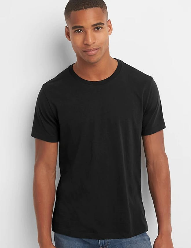 Tall and Skinny Black T shirt
