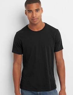 Tall and Skinny Black T shirt