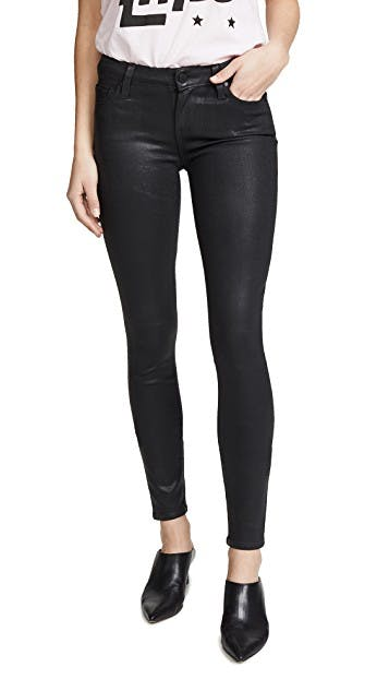 Coated Womens Jeans